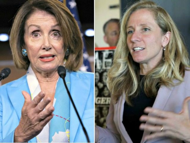 Nancy Pelosi, Abigail Spanberger