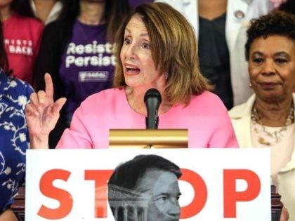 Nancy Pelosi stop Kavanaugh (Alex Wroblewski / Getty)