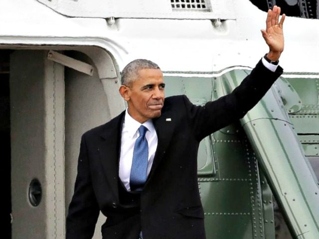 Obama Leaves Office