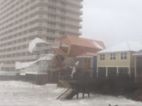 Marc Weinberg, chief meteorologist of Fox-affiliate WDRB, shared footage of a Panama City Beach home collapsing as Hurricane Michael barrels toward the Florida Panhandle at deadly speeds.