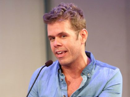 NEW YORK, NY - OCTOBER 01: Perez Hilton speaks onstage at the Living in a Short Form World panel during AWXI on October 1, 2014 in New York City. (Photo by Monica Schipper/Getty Images for AWXI)