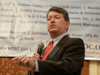 Republican U.S. Rep. John Faso speaks during a candidate forum in Poughkeepsie, N.Y., Wednesday, Oct. 17, 2018. Hip-hop, health care and Brett Kavanaugh have emerged as issues in a too-close-to-call congressional race in New York's Hudson Valley that pits the freshman Republican congressman against a rapper-turned-corporate lawyer seeking his first …