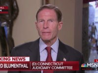 Blumenthal: We're Thinking About Tying Mueller Protection to 'Must-Pass Bills'