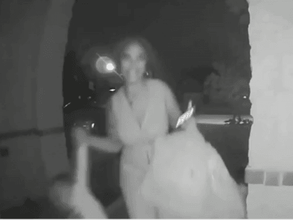 Ring Doorbell Cam of Alleged Child Abandonment 1