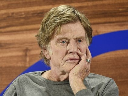 Sundance Institute founder Robert Redford looks on during the opening day press conference at the 2018 Sundance Film Festival on Thursday, Jan. 18, 2018, in Park City, Utah. (Photo by Chris Pizzello/Invision/AP)