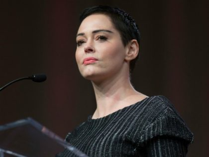 Rose McGowan Says Facebook Deactivated Her Account over Presidential Debate: 'This One Smells Like Dems'