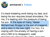 "Ammar Campa-Najjar on grandfather as ""legend"" (Ammar Campa-Najjar / Instagram)"