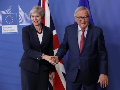 Juncker and May Brexit talks