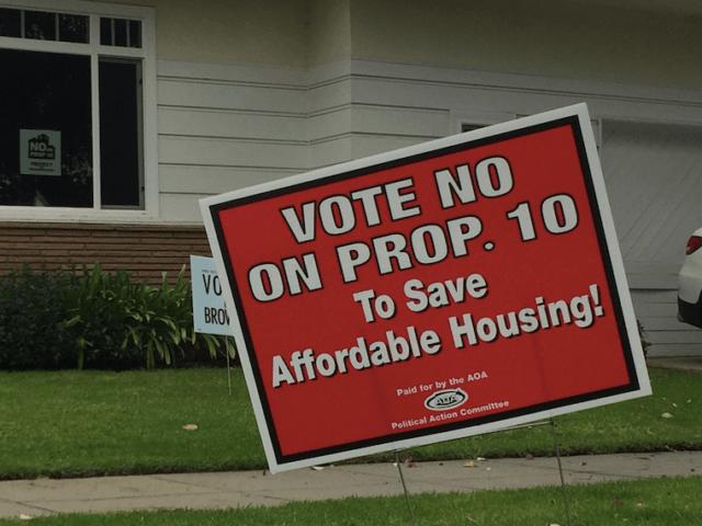 Proposition 10 (Joel Pollak / Breitbart News)