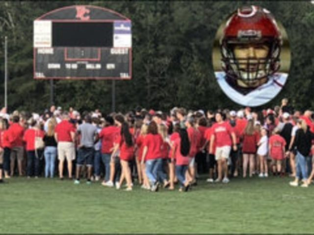 Georgia high school football player dies after being hit during game