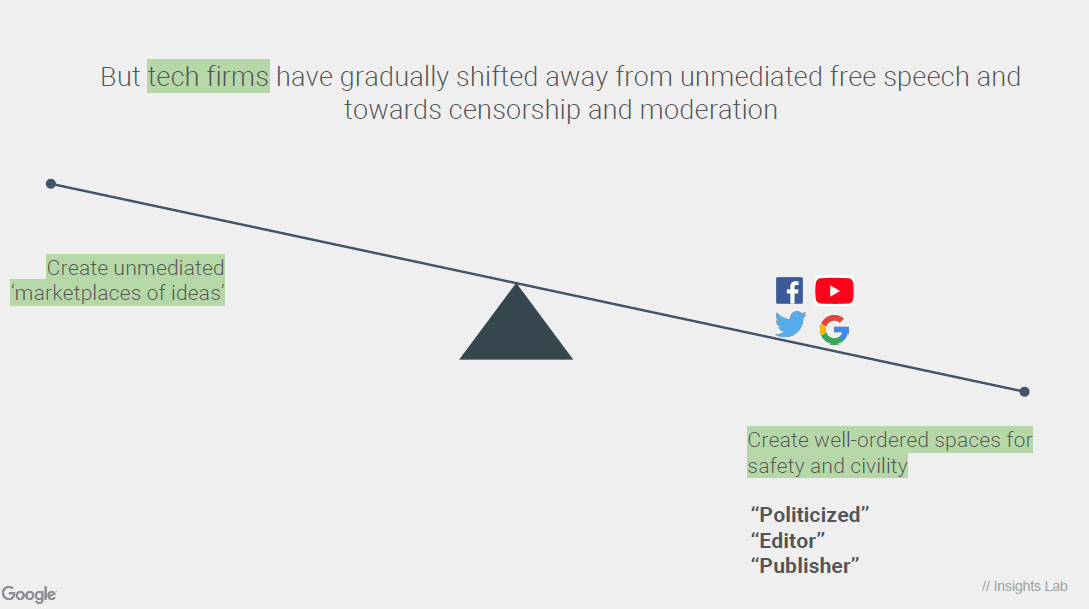 Shift1 'THE GOOD CENSOR': Leaked Google Briefing Admits Abandonment of Free Speech for 'Safety And Civility'