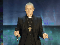 "FILE - In this Oct. 5, 2014 file photo, Irish singer Sinead O'Connor performs during the Italian State RAI TV program ""Che Tempo che Fa"", in Milan, Italy. 51-year old O'Connor has announced Friday Oct. 26, 2018, that she has converted to Islam and said she has changed her name …"