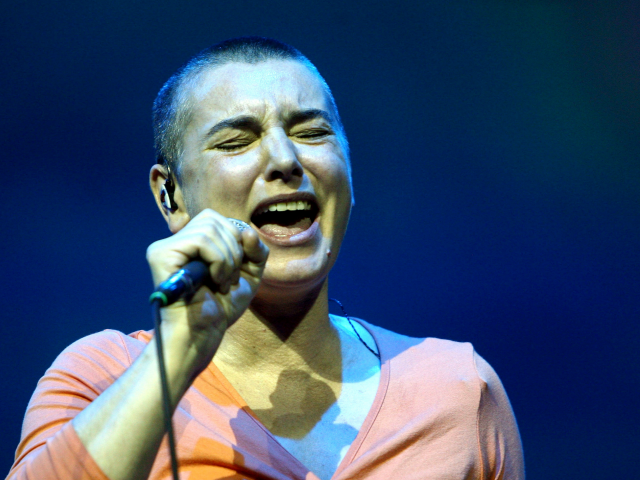 BYRON BAY AUSTRALIA- MARCH 21 Sinead O'Connor performs on stage during day two of the East Coast Blues & Roots Festival