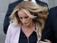 Stormy Daniels has a sad (Eduardo Munoz Alvarez / AFP / Getty)