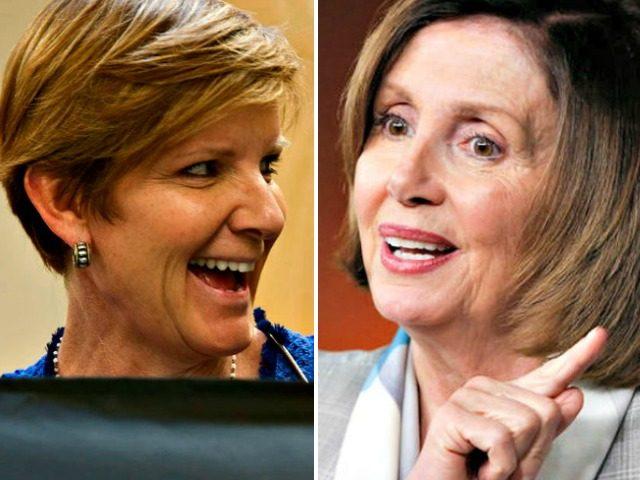 Susie Lee, Nancy Pelosi