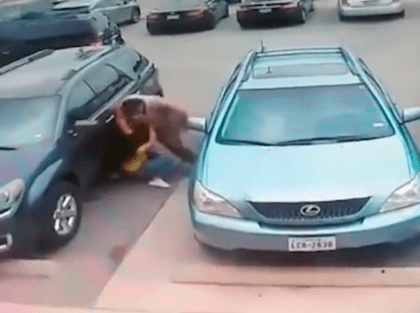 Watch: Texas Man Beats Petite Woman in Parking Spot Dispute