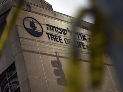 Tree of Life synagogue (Brendan Smialowski / Getty)