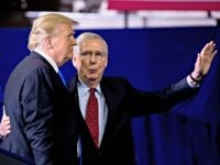 In Kentucky, Donald Trump Praises 'Rock Ribbed' Mitch McConnell