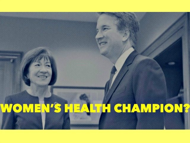 GOP Senator Susan Collins trusts Kavanaugh will uphold Roe v. Wade