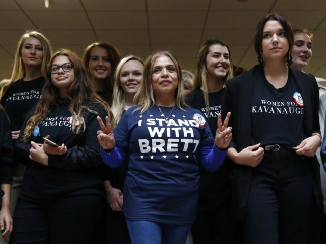 Women supporters of Brett Kavanaugh (Patrick Semansky / Associated Press)