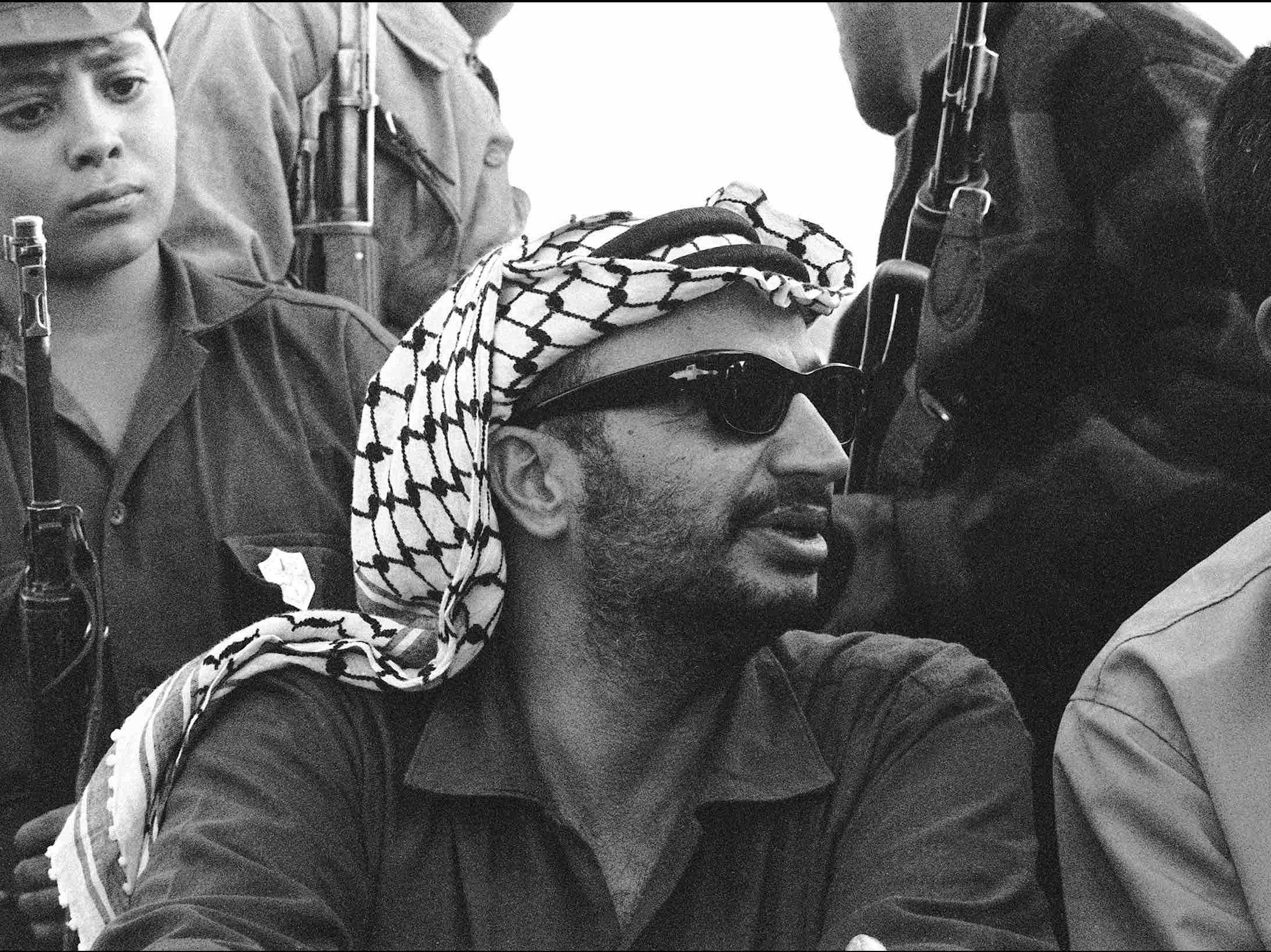 Yasser Arafat (STF / AFP / Getty)
