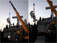 Chinese Communists Destroy Catholic Shrines Following Vatican Accord