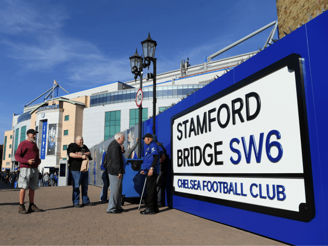 Fans arrive at the stadium prior to the Premier League match between Chelsea FC and Liverpool FC at Stamford Bridge on September 29, 2018 in London, United Kingdom. (Photo by Shaun Botterill/Getty Images)