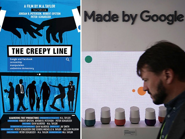 The Creepy Line Documentary highlights the influence of Google and Facebook