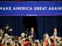 President Donald Trump greets the crowd during a campaign rally at Freedom Hall on October 1, 2018 in Johnson City, Tennessee. President Trump held the rally to support Republican senate candidate Marsha Blackburn. (Photo by Sean Rayford/Getty Images) Editorial subscription SML 3000 x 2000 px | 25.40 x 16.93 cm …