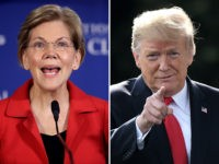Elizabeth Warren and Donald Trump