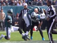 WATCH: Eagles' Zach Ertz Gets Slammed by Eric Reid During Fight
