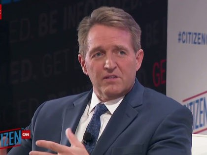 Flake: Trump's 'Unknown Middle Easterners' Tweet Is 'a Canard and a Fear Tactic'