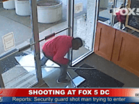 Shooting at FOX 5 DC News Building. Man SHOT by Security. YouTubeTv LIVE NEWS A suspected intruder was shot trying to break into WTTG FOX 5's building in the Friendship Heights neighborhood in D.C. on Monday.