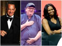 Michael Moore: 'Beloved Americans' Tom Hanks, Michelle Obama Could Defeat Trump in 2020