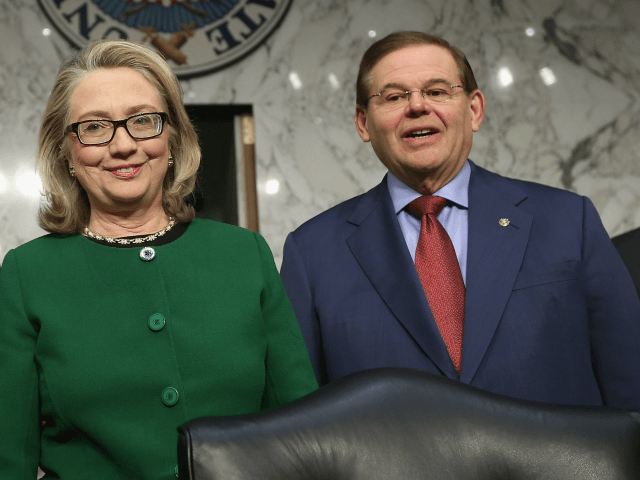 Hillary Clinton's Van Crashes Before Bob Menendez Fundraiser