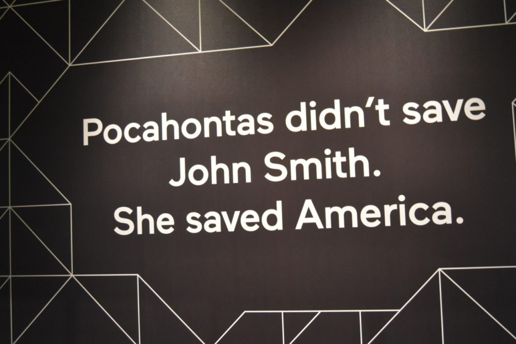 Smithsonian Indian Museum Features Elizabeth Warren and Donald Trump in Pocahontas Exhibit