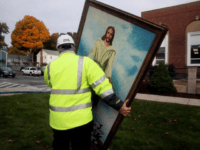 Wakefield's historic First Baptist Church was ravaged by fire Tuesday evening. But this painting of Jesus was somehow left unharmed by fire, smoke, or water. http://bos.gl/XHrBb2f