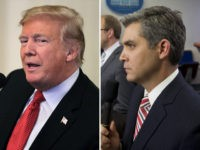 CNN's Jim Acosta 'Asks' Trump: 'You're a White Nationalist'