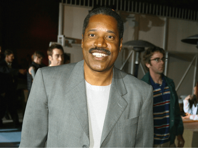 Larry Elder at the 5th Anniversary of Comedy Central's 'South Park' at Quixote Studios in Hollywood, Ca. Thursday, Oct. 24, 2002. Photo by Kevin Winter/Getty Images.