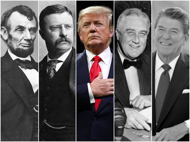 lincoln-TR-trump-FDR-reagan-getty-wikimedia