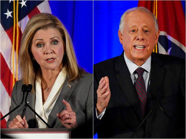 Marsha Blackburn and Phil Bredesen