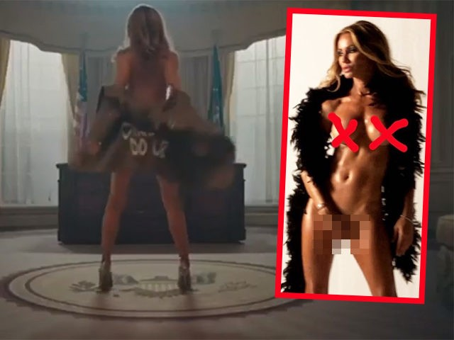 "Model Melanie Marden praised herself for her ""brave"" decision to film a nude scene depicting First Lady Melania Trump stripping in the Oval Office."