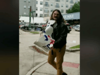 WATCH: Crazed Man Melts Down, Tears Up Ted Cruz Signs in Texas