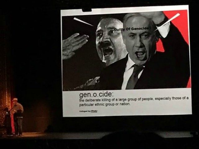 TEL AVIV - A mandatory lecture for University of Michigan art students featured a former Black Panther leader who compared Israel's Prime Minister Benjamin Netanyahu to Adolf Hitler.