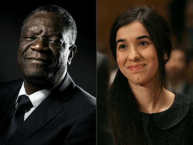 Denis Mukwege and Nadia Murad were awarded the Nobel peace prize for their work to end the use of violence as a 'weapon of war.' Denis Mukwege and Nadia Murad were awarded the Nobel peace prize for their work to end the use of violence as a 'weapon of war' …