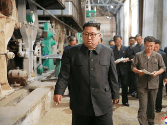 Kim Jong Un's nuclear arsenal needs tougher inspections, Japanese governments officials who spoke to a local newspaper say. File Photo by KCNA/UPI