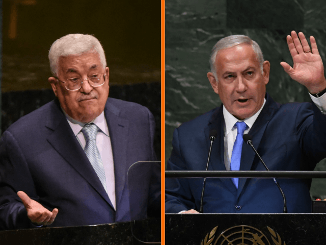 Prime Minister Benjamin Netanyahu slammed Thursday Palestinian President Mahmoud Abbas for transferring funds to Hamas during a press conference with German Chancellor Angela Merkel in which the two displayed unity, despite gaping disagreements.