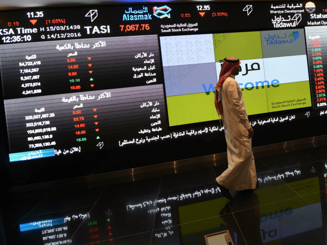 Trump Warning over Missing Writer Crashes Saudi Stocks by 7.0 Percent