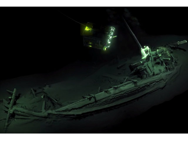 World's Oldest Intact Shipwreck Found Off the Coast of Bulgaria