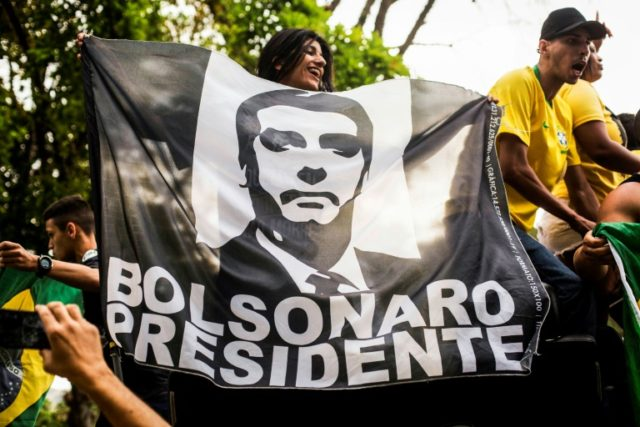 Poll surge for right-winger spurs Brazil markets